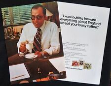 TULLY GIACOMEZZI DIRECTOR OF SALES MCGRAW-HILL NEW YORK 2pp MAGAZINE ADVERT 1973