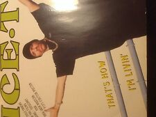 """Ice-T - That's How I'm Living 12"""" Vinyl Hip hop 1993 Rhyme Syndicate Records"""