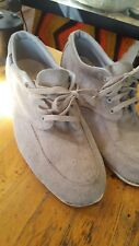 Bowling Shoes Gray Leather LOOK GREAT! sz 8