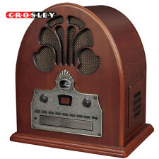 NEW Crosley CR32CD Cathedral Retro Vintage Table Top Radio w/ CD Player