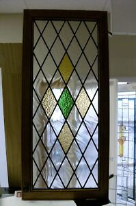Classic Diamond Leaded glass Windows all sizes