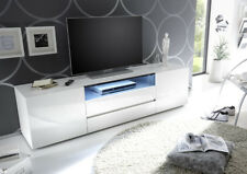 Vicenza 185 - Lowboard TV Stand – two doors – two drawers - lacquered high gloss