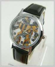 Stainless Steel Case Teen Casual Round Wristwatches