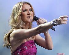 Celine Dion Pop Diva Singer Glossy 8 x 10 Photo