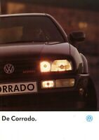 1 VW Corrado Prospekt NL 1991 10/91 dutch brochure catalogue prospectus broszura