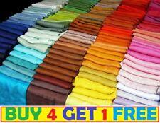 High quality plain pashmina scarf shawl stole wrap 100% viscose - PaSmna