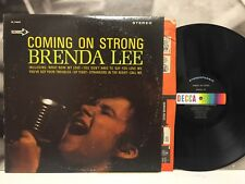 BRENDA LEE - COMING ON STRONG LP VG/VG- US 1966 1st STEREO DECCA DL 74825