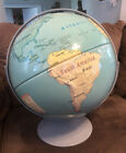 """Nystrom First Globe Double Axis 16"""" Contoured Relief Globe"""