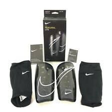 Nike Mercurial Lite Shinpads Football Shin Pads Lightweight X Large With Sleeves