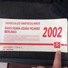 Manual De Taller De Bolsillo CITROEN