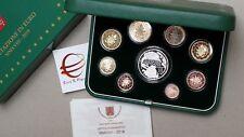 2018 9 monete Fs 20 EURO 23,88 VATICANO Vatican Vatikan Francesco PP BE proof