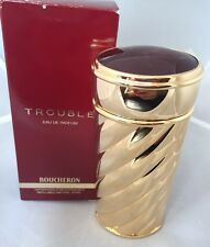 Trouble by Boucheron for Women 2.5 oz Eau de Parfum Spray Rechargeable NIB