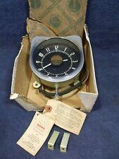 1947 1948 1949 Studebaker Commander ~ Nos Borg Accessory Clock w/ Tags ~ Ac-1412