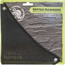 Komodo Reptile Soft Nylon Mesh Vivarium Terrainium Suction Hammock