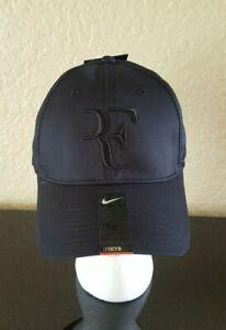 Nike ROGER FEDERER Hat Cap Legacy 91 Black & Black 371202-011