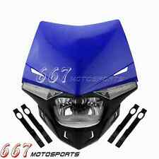 Enduro Headlight Head Light For Yamaha YZ YZF WR WRF DT XT 250 XT 660R 660X 660Z