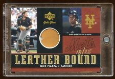 2001 UD MIKE PIAZZA GOLD GLOVE GAME USED BALL /25  SUPER RARE FIND   HOF ?  METS