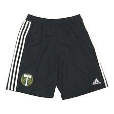 Portland Timbers MLS Adidas Men's Black Team Crest Training Shorts