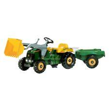Rolly Toys 023110 Tret-traktor John Deere Anhänger grün