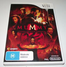 The Mummy Tomb of the Dragon Emperor Nintendo Wii PAL *Complete*