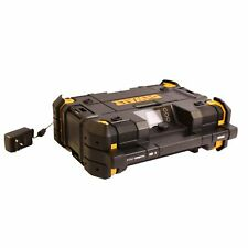 DeWalt Baustellenradio TSTAK Akkuradio Netzradio mit Ladefunktion DAB+ Bluetooth
