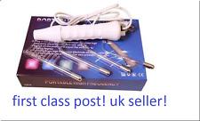 ELECTROSEX NEON WAND E-STIM SENSUAL TEASER SHOCKER PLAY SET + 4 ATTACHMENTS,UK!