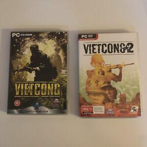 Vietcong 1 & 2 - PC Windows Game