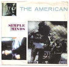 "Simple Minds -""The American"" -1981- 7"" Vinyl 45rpm Single - Virgin Records"