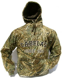 Cabela's Men's Mossy Oak DUCKBLIND Camo Heavyweight Waterfowler Hunting Hoodie