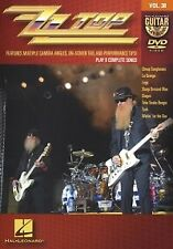 GUITAR PLAY ALONG DVD 38 ZZ Top