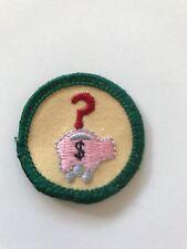 Girl Scout patch - Money Sense -