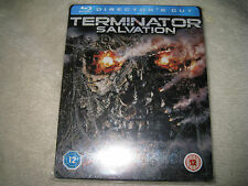 Terminator Salvation Blu-ray Steelbook UK B.New sealed