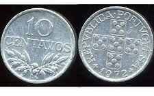 PORTUGAL  10  centavos 1972