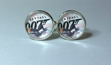 James Bond 007,Skyfall Inspired, Glass domed cufflinks, Daniel Craig