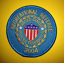 2004 USSF United States Soccer Federation Referee Football Jersey Patch Crest