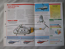 Aircraft of the World Card 18 , Group 3 - Sikorsky S-55/H-19