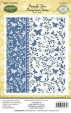 JUSTRITE - Butterfly Vines  Background  Stamp