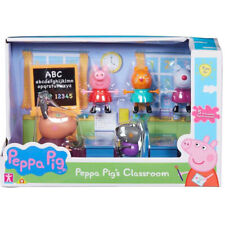 Peppa Pig's Classroom Playset with Peppa, Danny, Suzy, Candy & Gazelle Figures