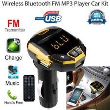 Wireless Bluetooth Charger FM Transmitter Modulator Car Kit MP3 Music Player HJ