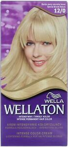 2x Wella Wellaton Intense Permanent Hair Colour Natural Blonde -12/0 (EU)