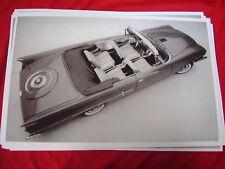 1958 CHRYSLER 300D  CONVERTIBLE   BIG 11 X 17  PHOTO  PICTURE
