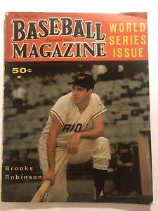 1964 Baseball Magazine BALTIMORE ORIOLES Brooks ROBINSON Mickey MANTLE Killebrew