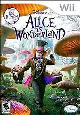 BRAND NEW Sealed Alice in Wonderland (Nintendo Wii, 2010)
