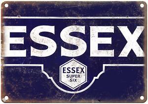 "Essex Super Six Motor Oil 10"" x 7"" Reproduction Metal Sign U155"