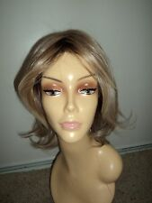 Raquel Welch EMBRACE HD Synthetic Medium Wavy Wig,RL19/23SS Rooted Blonde