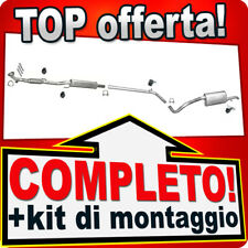 Scarico Completo SEAT IBIZA III (6L) 1.2 2005-2009 +Silenziatore Anteriore 814B