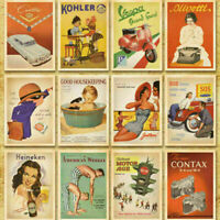 14cm x 10cm Postcards Sets 32pcs European American Photo Vintage Postcard Set