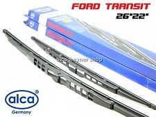 FORD TRANSIT 2006-2013 set of 2 genuine front windscreen WIPER BLADES 26''22''
