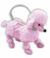 Cute Flirtin' With The 50's Pink Poodle Dog Hand Bag Costume Accessory Purse New