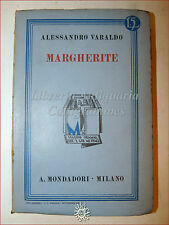 Alessandro Varaldo, MARGHERITE 1932 Libri Azzurri Mondadori Romanzo